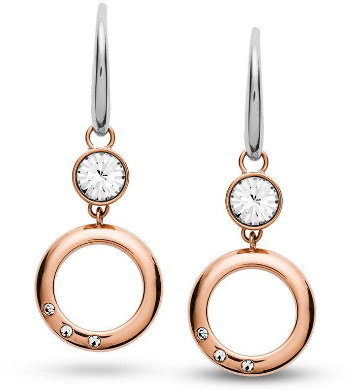 6cd4c3dec39 Open Circle Rose Gold-Tone Stainless Steel Earrings | Women Earrings ...