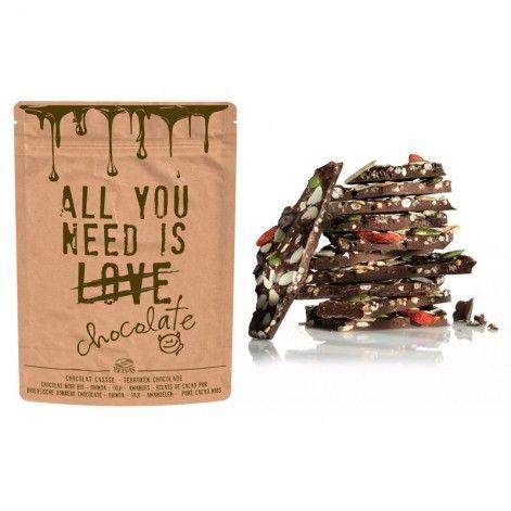 Chocolat cassé bio Love, Belvas