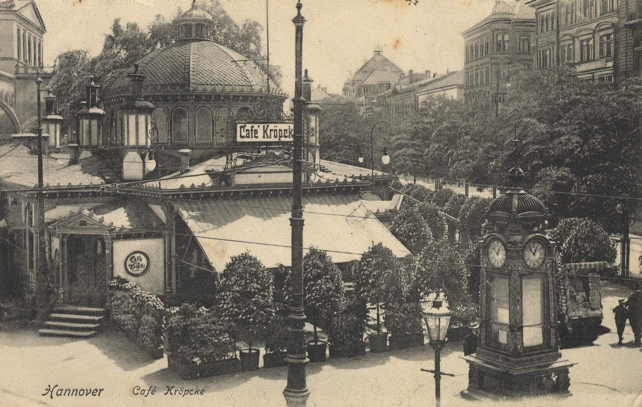 Café Kröpcke Bildseite, 1900