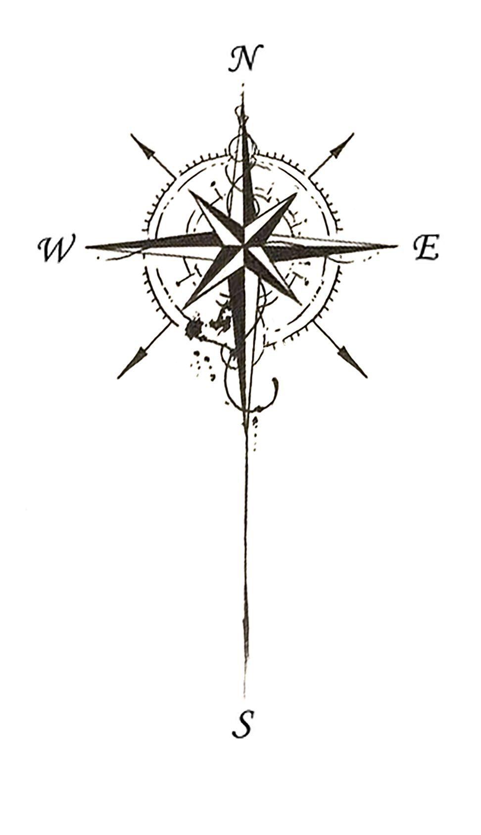 Compass Tattoo Design Compasstattoodesign рисунки татуировки