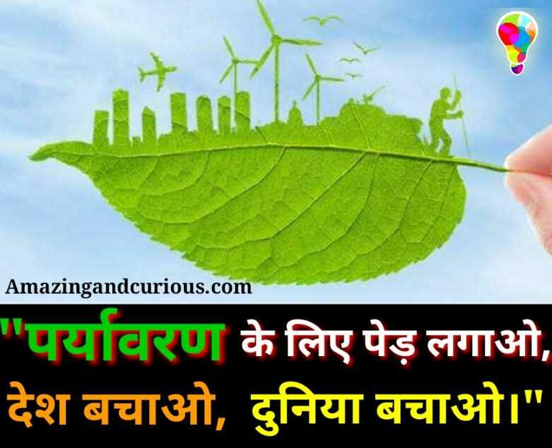 Environmentsafety #पयार्वरण #slogansinhindi