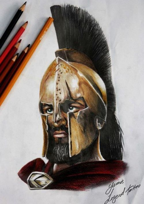 300 spartans leonidas tattoo images galleries with a bite. Black Bedroom Furniture Sets. Home Design Ideas