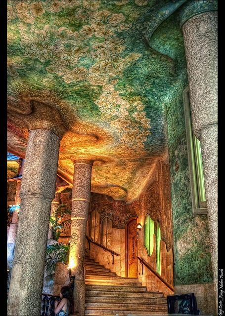 Barcelona_Casa Milà Interior | Pinterest | Gaudi, Antoni gaudi and Spain