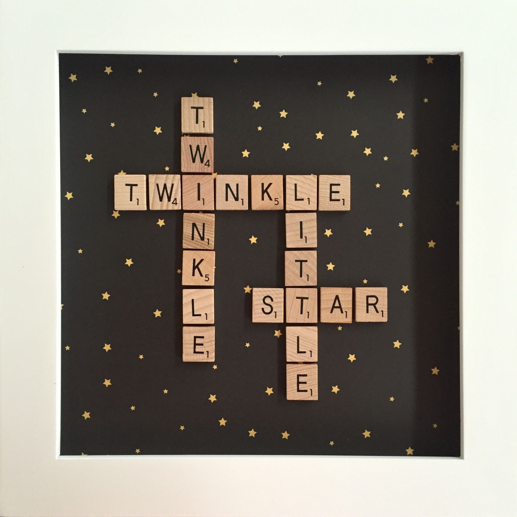 Scrabble Letter Wall Decor In Stock Chevron Scrabble Shadow Box Personalized Anniversary