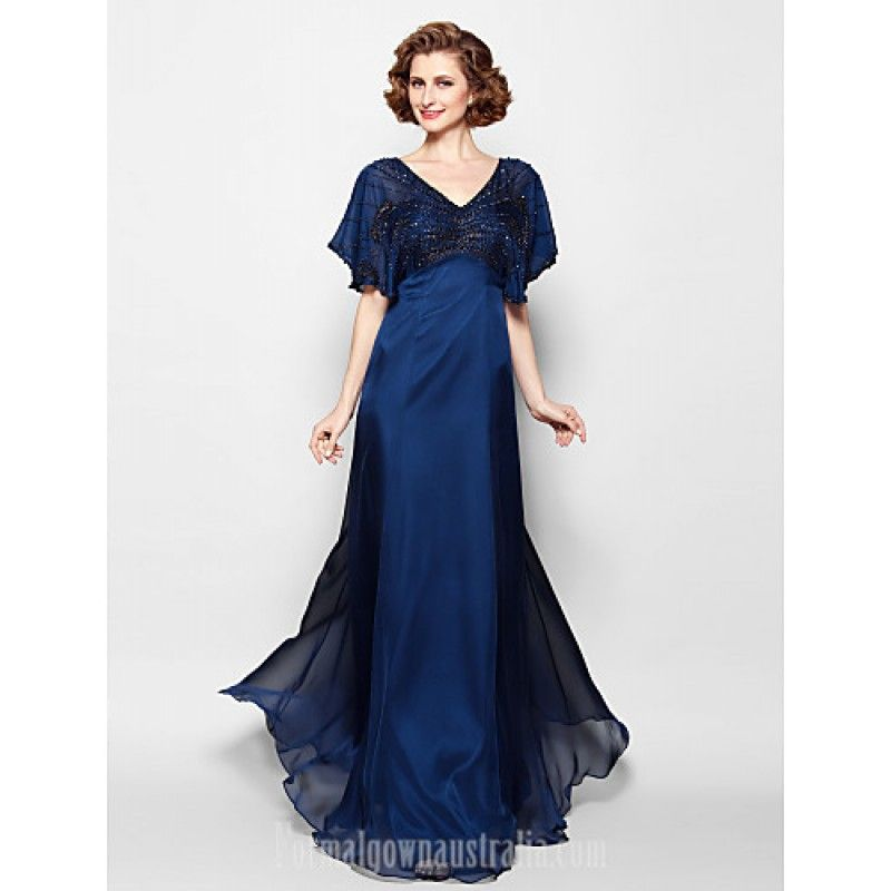 A Line Plus Sizes Dresses Petite Mother Of The Bride Dress Dark Navy