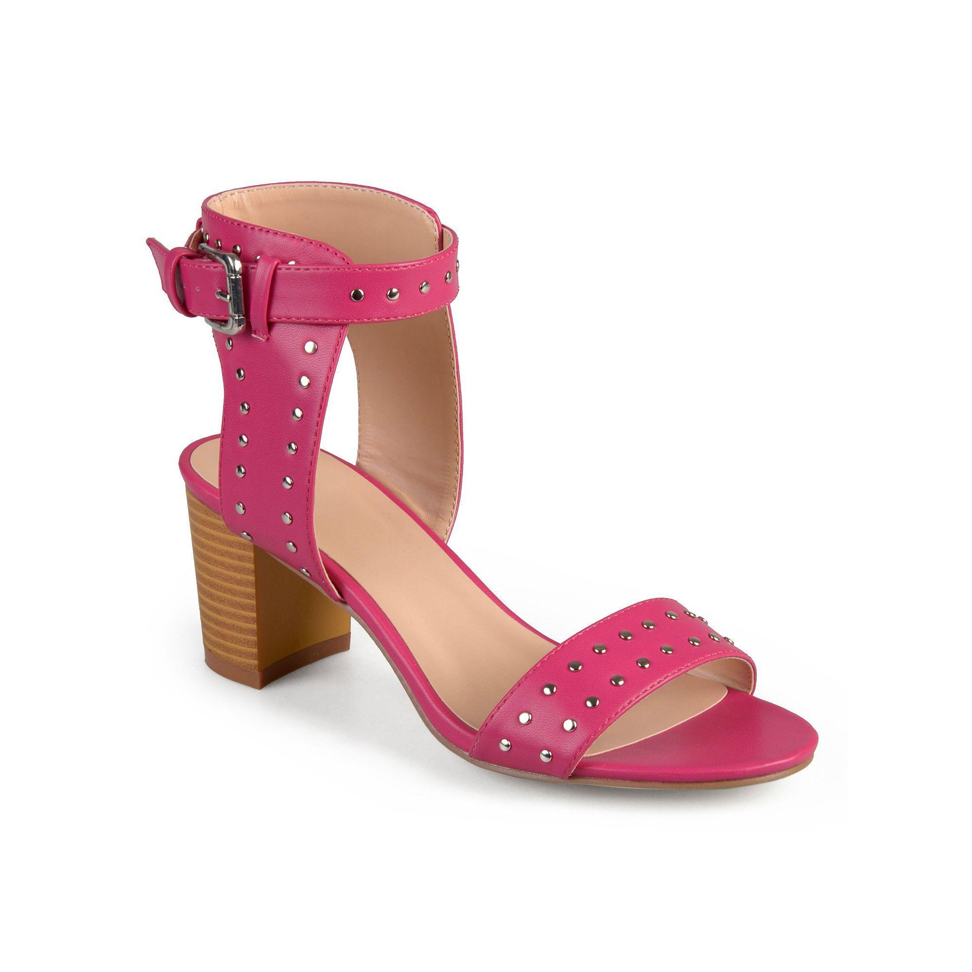 Womens sandals in size 12 - Journee Collection Mabel Women S Block Heel Sandals Size 12 Black