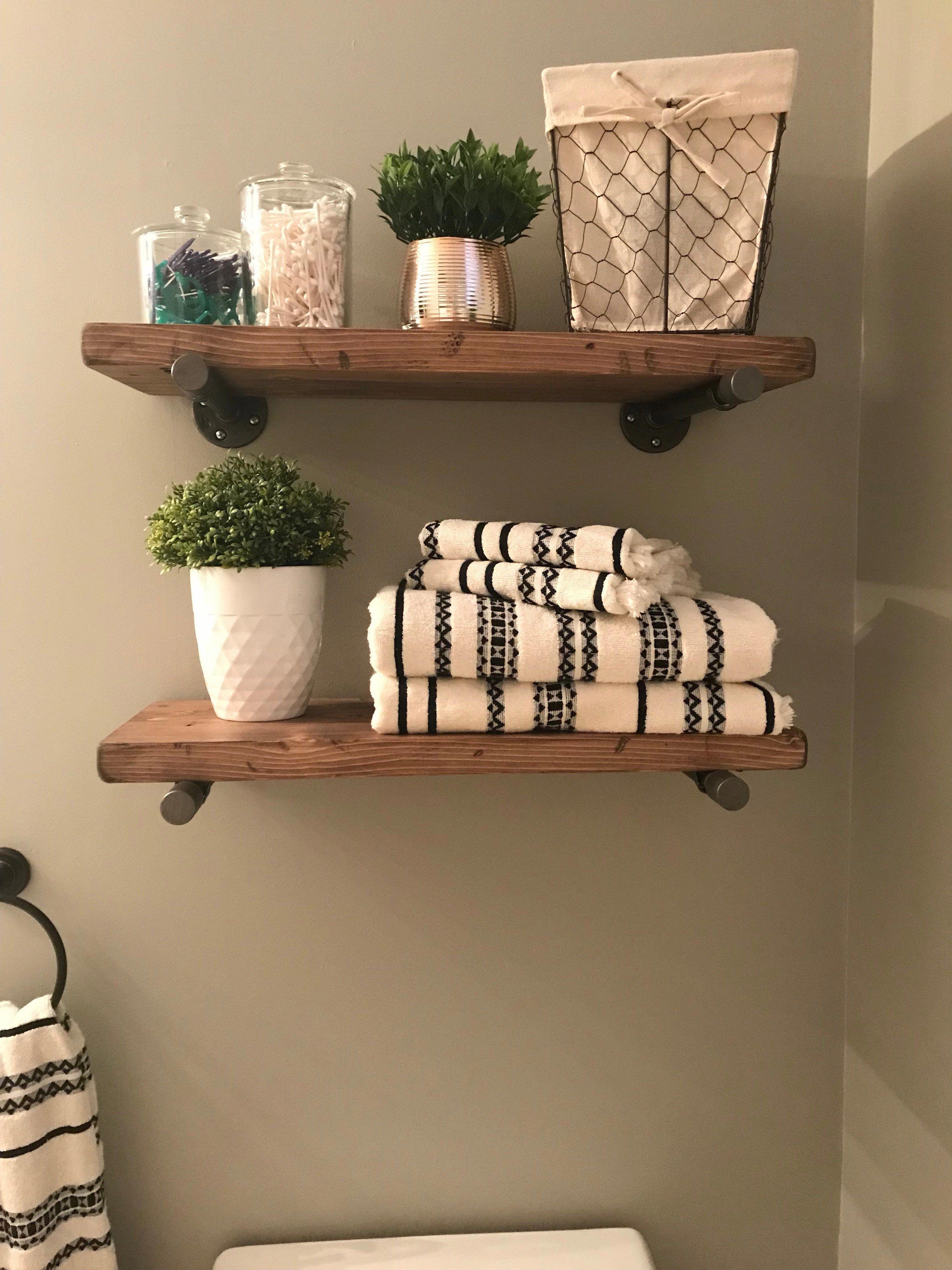Bathroomshelves Badezimmer Dekor Diy Holzregal Design Holzregal