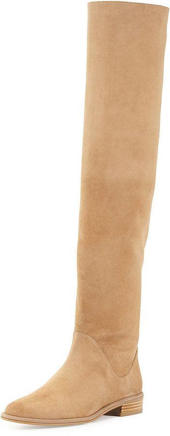 Trending On ShopStyle - Stuart Weitzman Rockerchic Suede Knee Boot