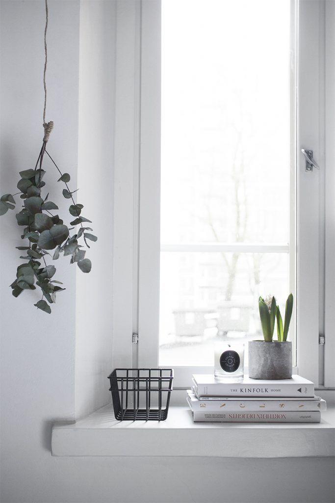 Vensterbank decoratie ideeën | Woonkamer inspiratie | Pinterest ...