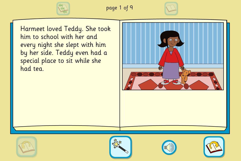 Harmeet S Teddy Story Book