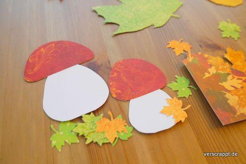 Herbst-Herbstliches-Fensterdeko -Fensterbild-Fenster-Dekoration-Bild-Kürbis-Blätter-Igel-Pilze-Pilz-Blatt-Herbstblatt-gelb-orange-braun-Herbstfarben-rot-Fliegenpilz #igelbastelnfensterbild