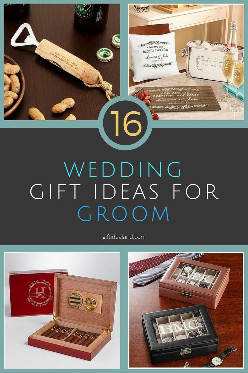 16 Best Wedding Gifts For Groom Gift Ideas Men Son Brother