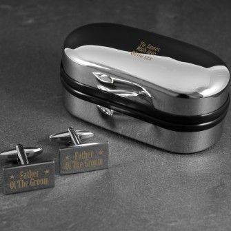 if youre in need of a gift fast then this superb birthday cufflinks and box set is ready to go the rectangle cufflinks feature on one and birthday b