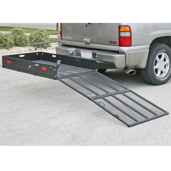 apex steel utility cargo carrier with