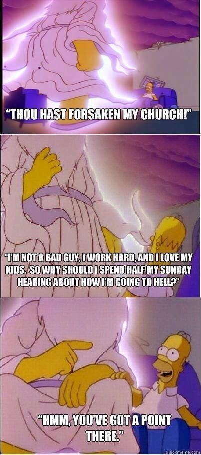 Homer Makes A Valid Point