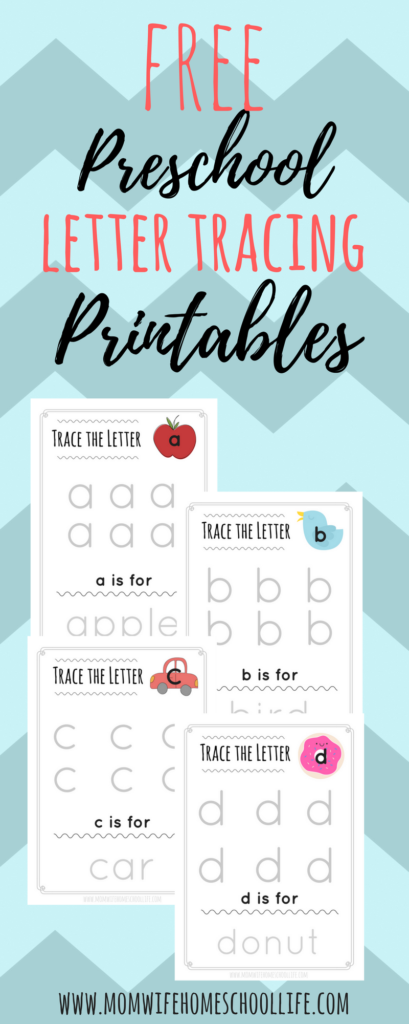 Trace the Letter: Lowercase Alphabet Tracing | daycare | Pinterest ...