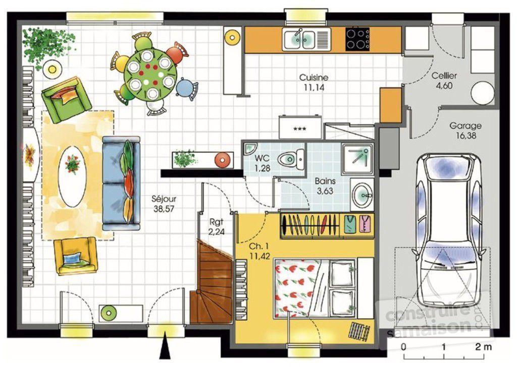 Maison contemporaine 7