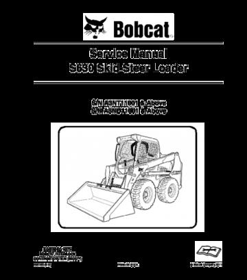 Bobcat S630 Skid Steer Loader Service Repair Manual Repair Manuals Skid Steer Loader Bobcat