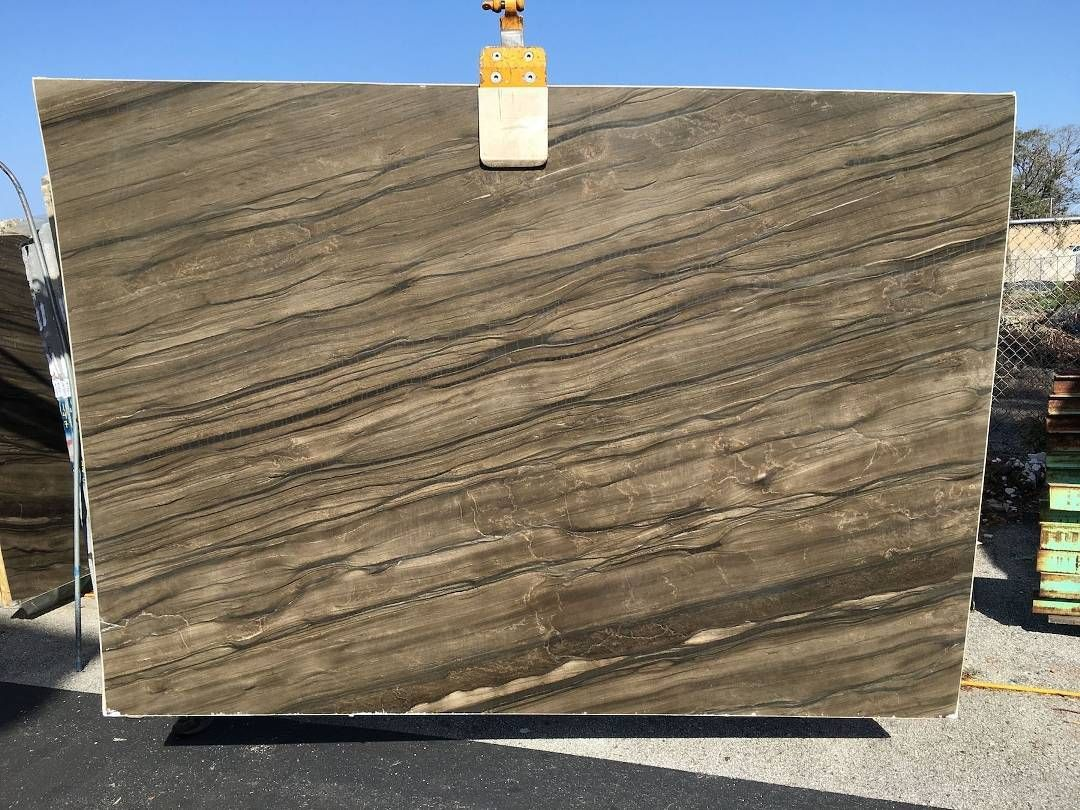 Dramatic Ancient And Enduring Are Just A Few Words To Describe Sequoia Granite The Leathered Finish Accentuat Granite Countertops Wood Countertops Countertops