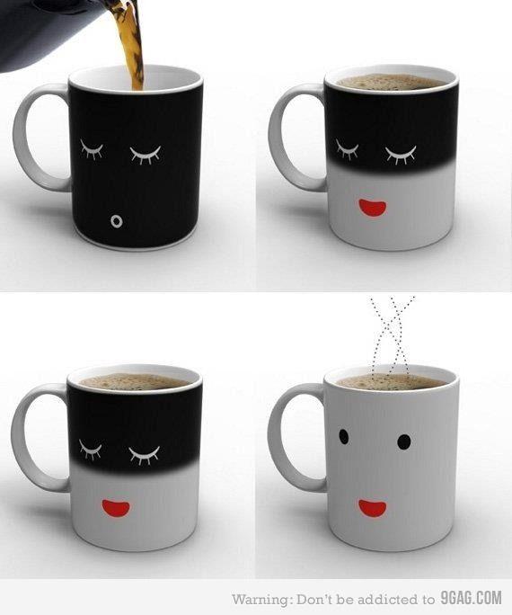 Sleep/Awake coffee mug