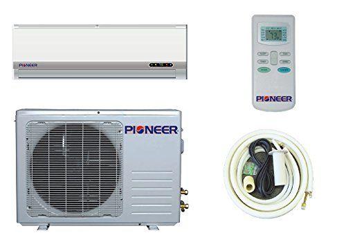 Pioneer Ductless Mini Split Air Conditioner Heat Pump 12000 Btu 1 Ton 13 Seer Cooling Heating Dehumidification House Hvac Ductless Mini Split Heat Pump