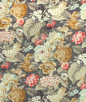 Shop Waverly Floral Flourish Clay Fabric At Onlinefabricstore Net