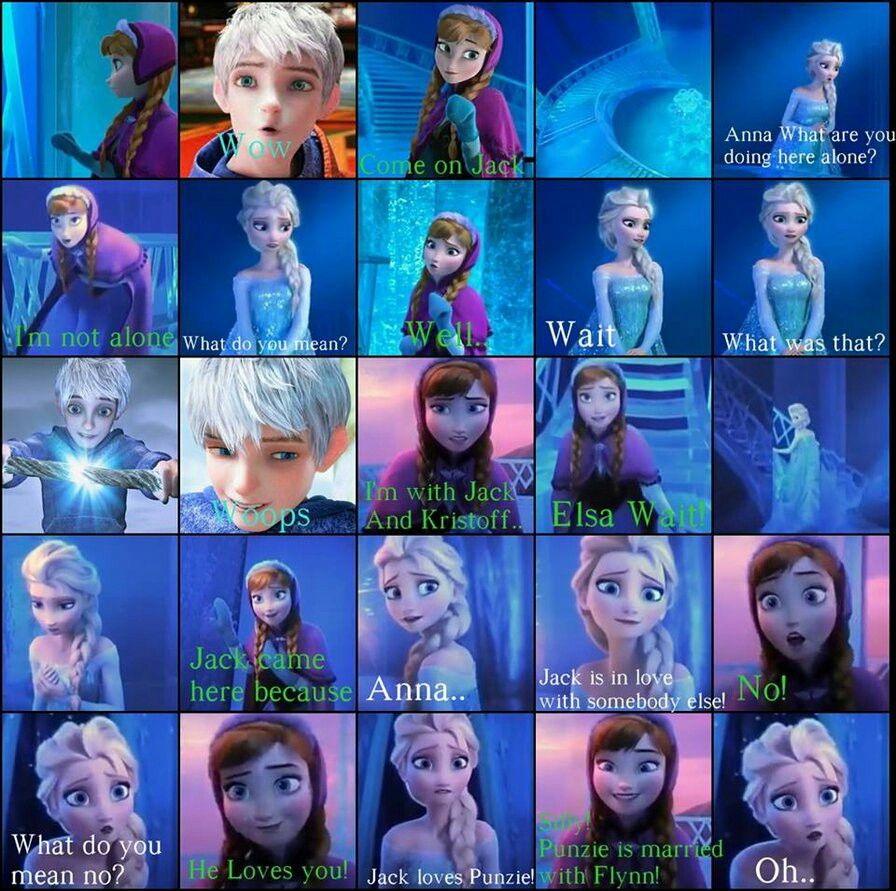 Elsa's face at the end. Ha!