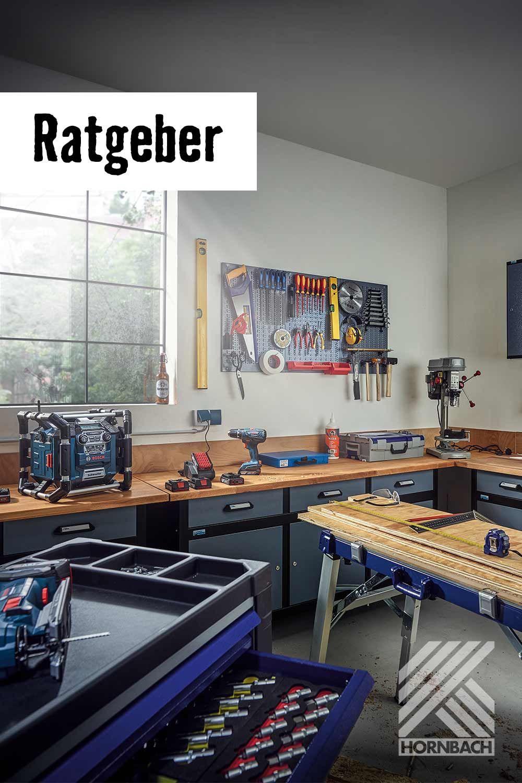 Werkstatt Einrichten Hornbach Aufbewahrung Werkstatt Werkstatt Platzsparende Lagerung