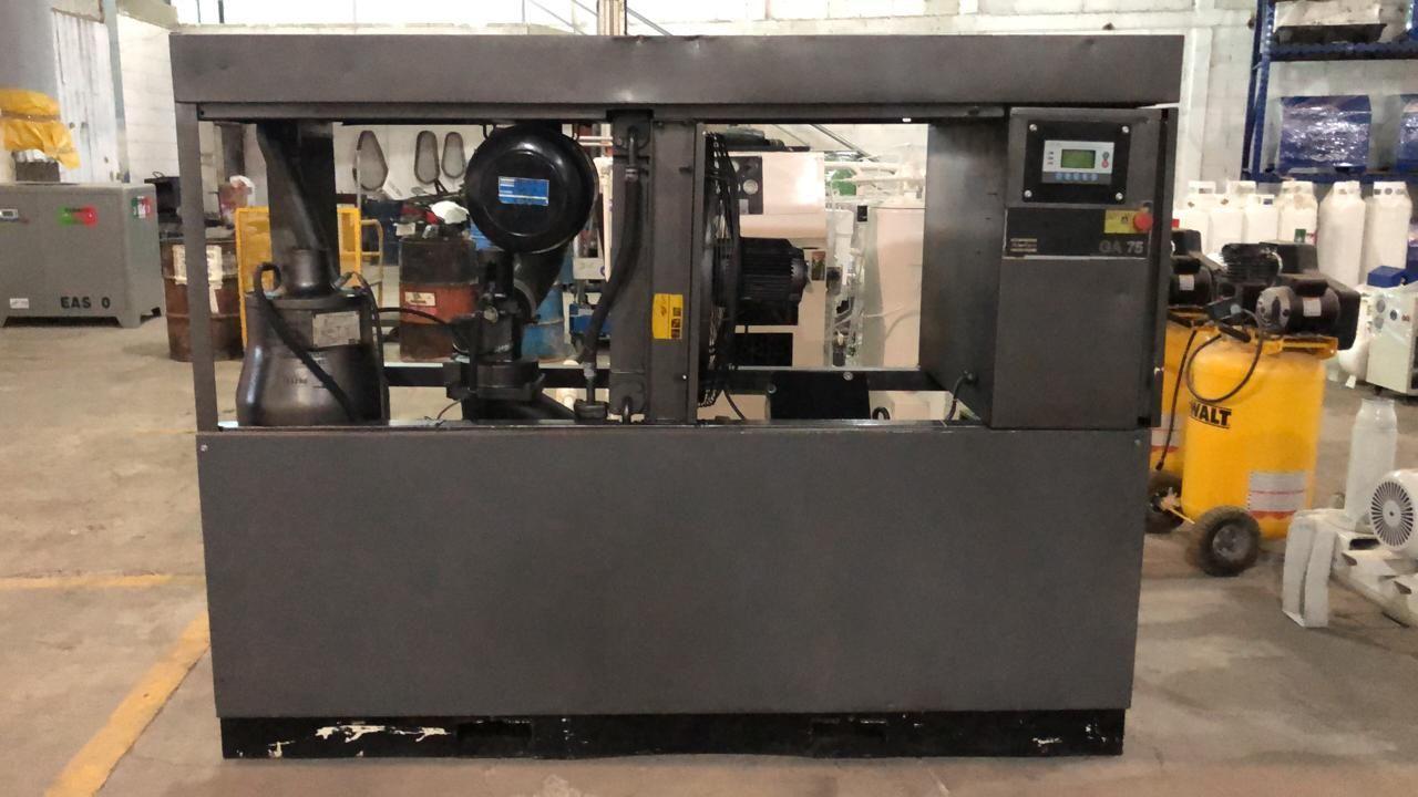 TLAS COPCO GA75 DE 100 HP en 2020 Pintura electrostatica