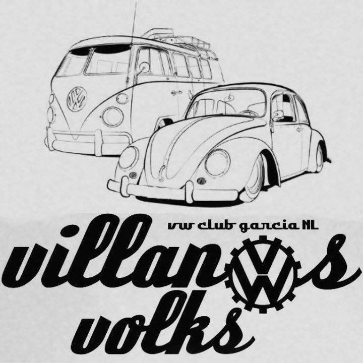 Villanos Volks VW Club Garcia Nuevo Leon.   Club de autos Volkswagen representativo del municipio de García Nuevo León México, institución de esparcimiento 100 % familiar que fomenta la pasión por los autos de esta marca, asiste a eventos y convive mas que un club como un grupo de amigos