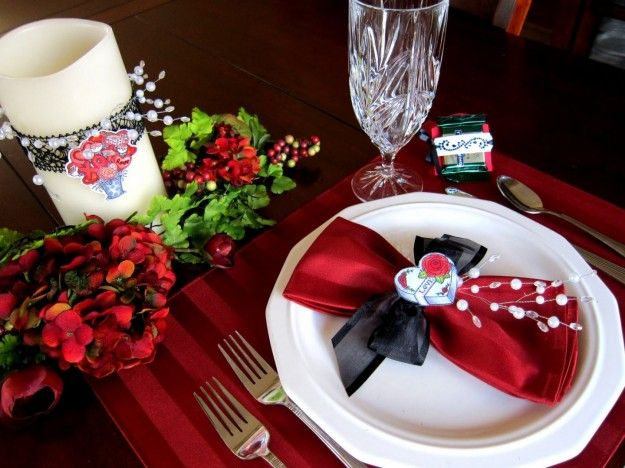 Pin by Luisa Ciuni on cena romantica idee Pinterest - weihnachtsservietten falten