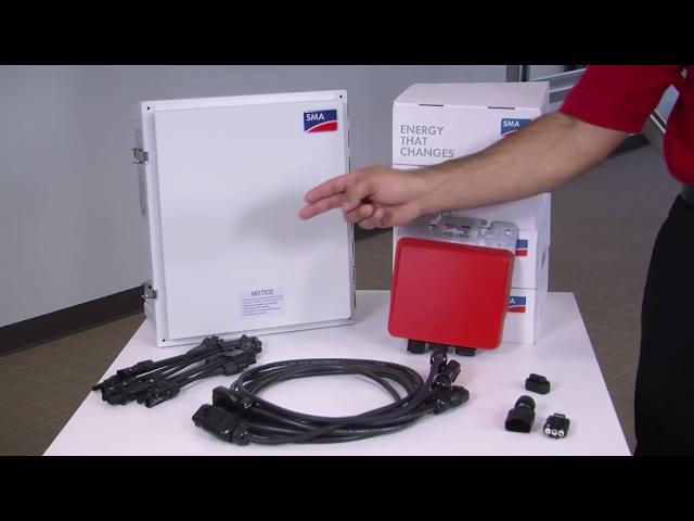 Sma Sunny Boy 240 Us Micro Inverter Install Installation Energy Storage Boys
