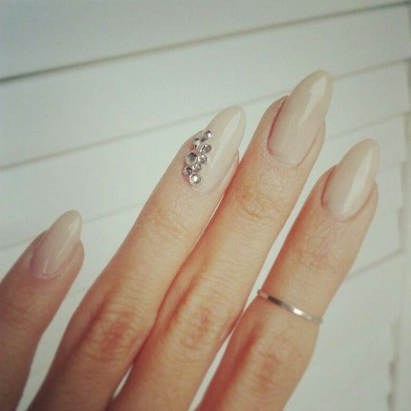 Simple pink nails | Baby pink nails, Nail colors, Nails