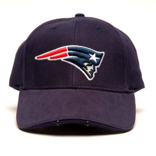 8d3e1c92fac64 NFL New England Patriots Dual LED Headlight Adjustable Hat by Lightwear.  Save 42 Off!
