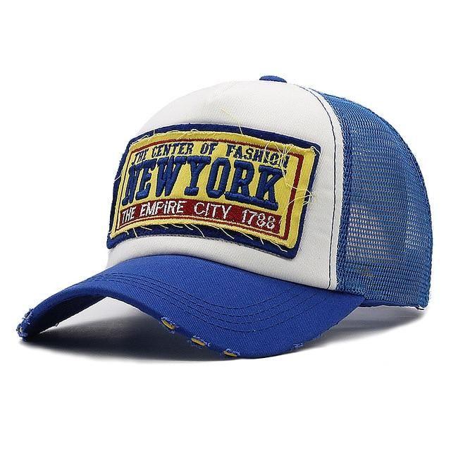 1dfa8254a307f YORK CITY Women's NY Baseball Cap with Mesh Brand Snapback Hat ...