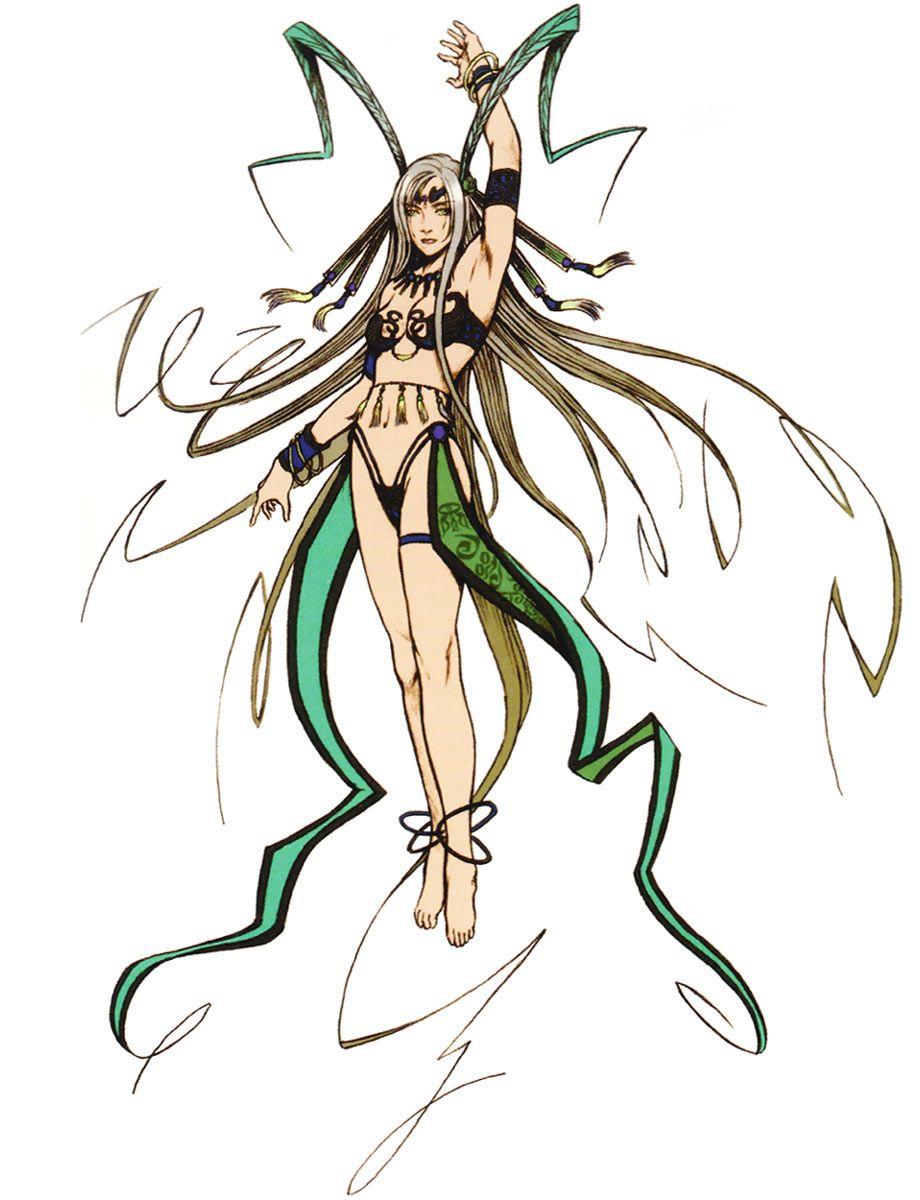 Week 10 - Final Fantasy X - Concept Art Mon - Yunalesca