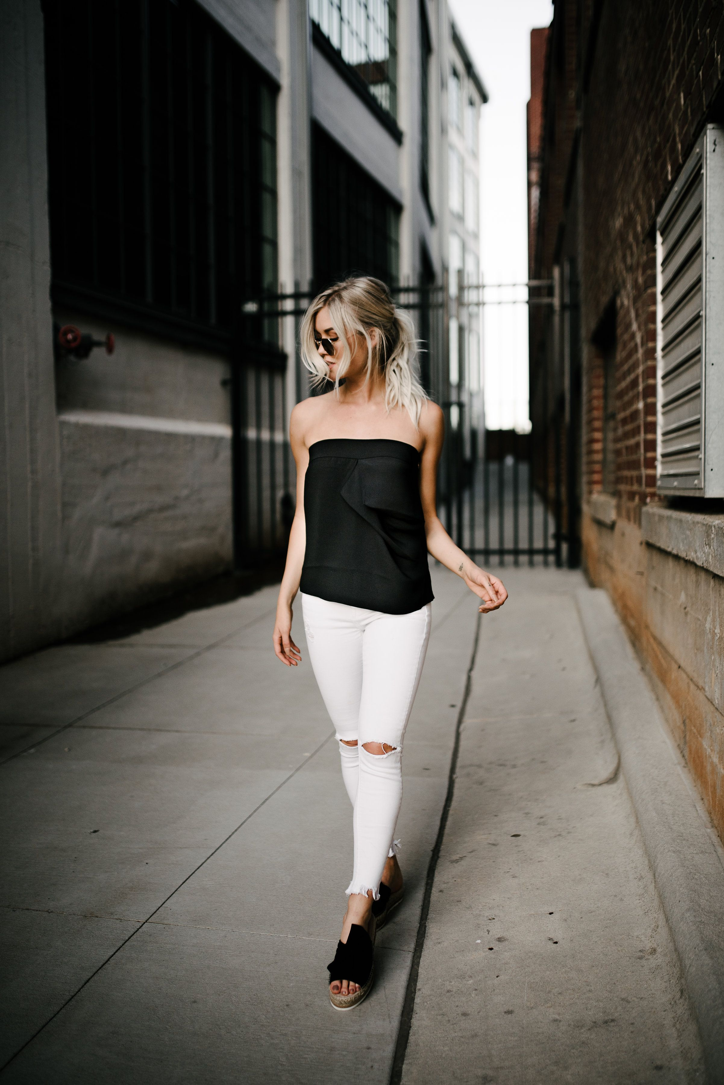 Anna Cate Collection Skylar// street style draped to