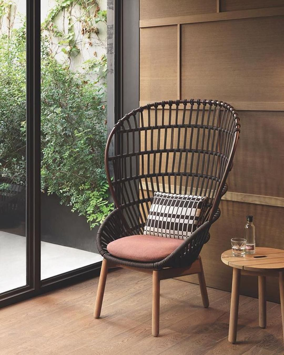 #Repost @doshilevien Cala Armchair Designed By Doshi Levien For Kettal.  Metal Frame Woven Home Design Ideas