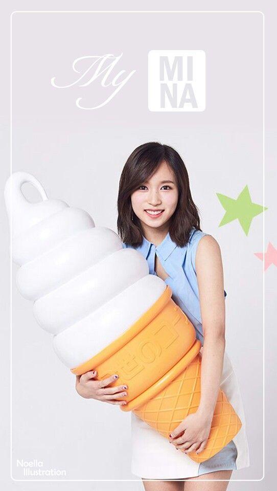Myoui Mina Mina Twice Mina Lockscreen Twice Lockscreen