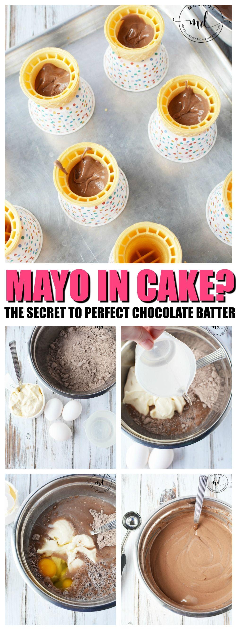 Mayonnaise cake recipe a super moist chocolate cake made