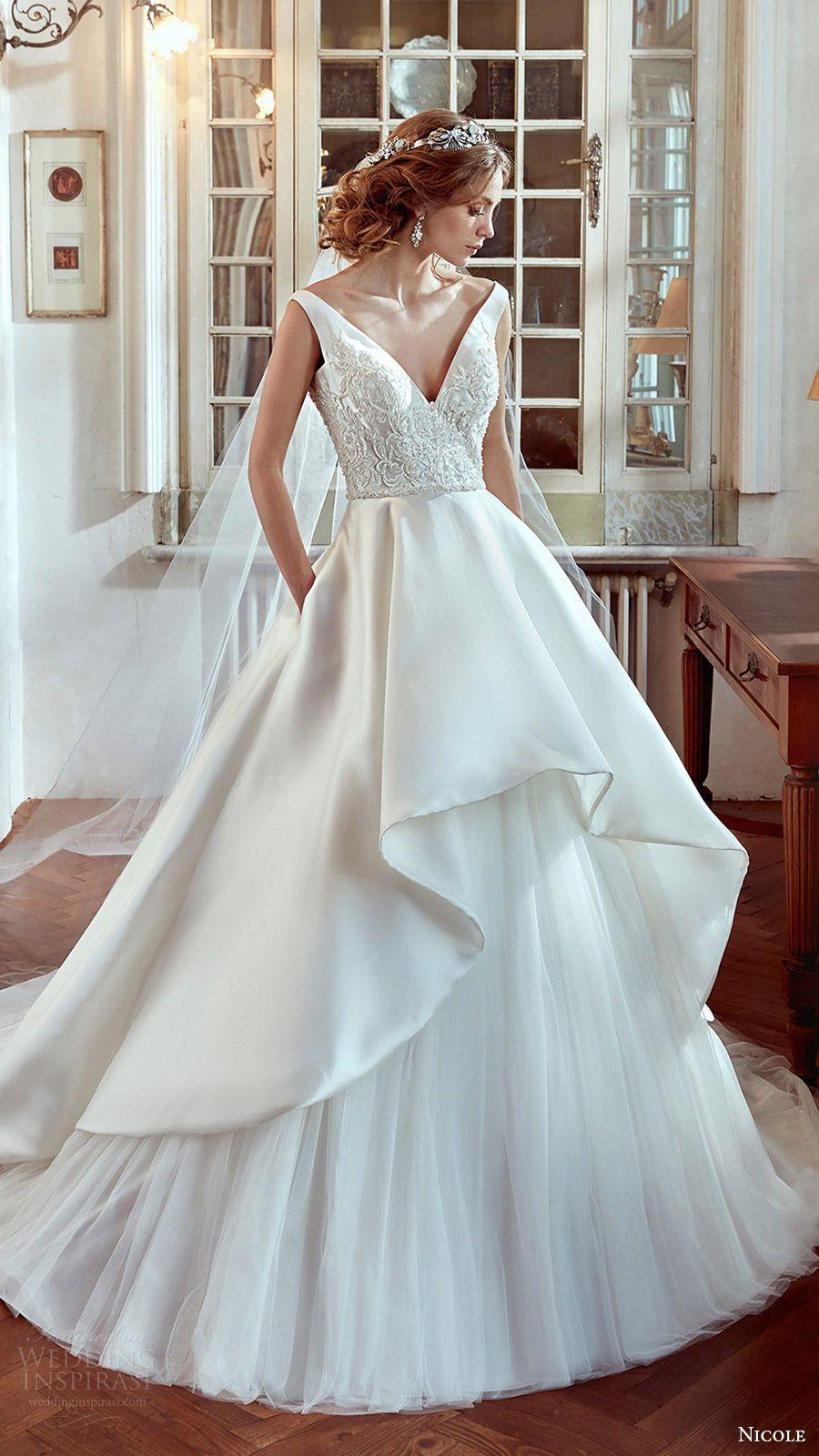 Nicole 2017 Wedding Dresses | Wedding dress, Weddings and Gowns