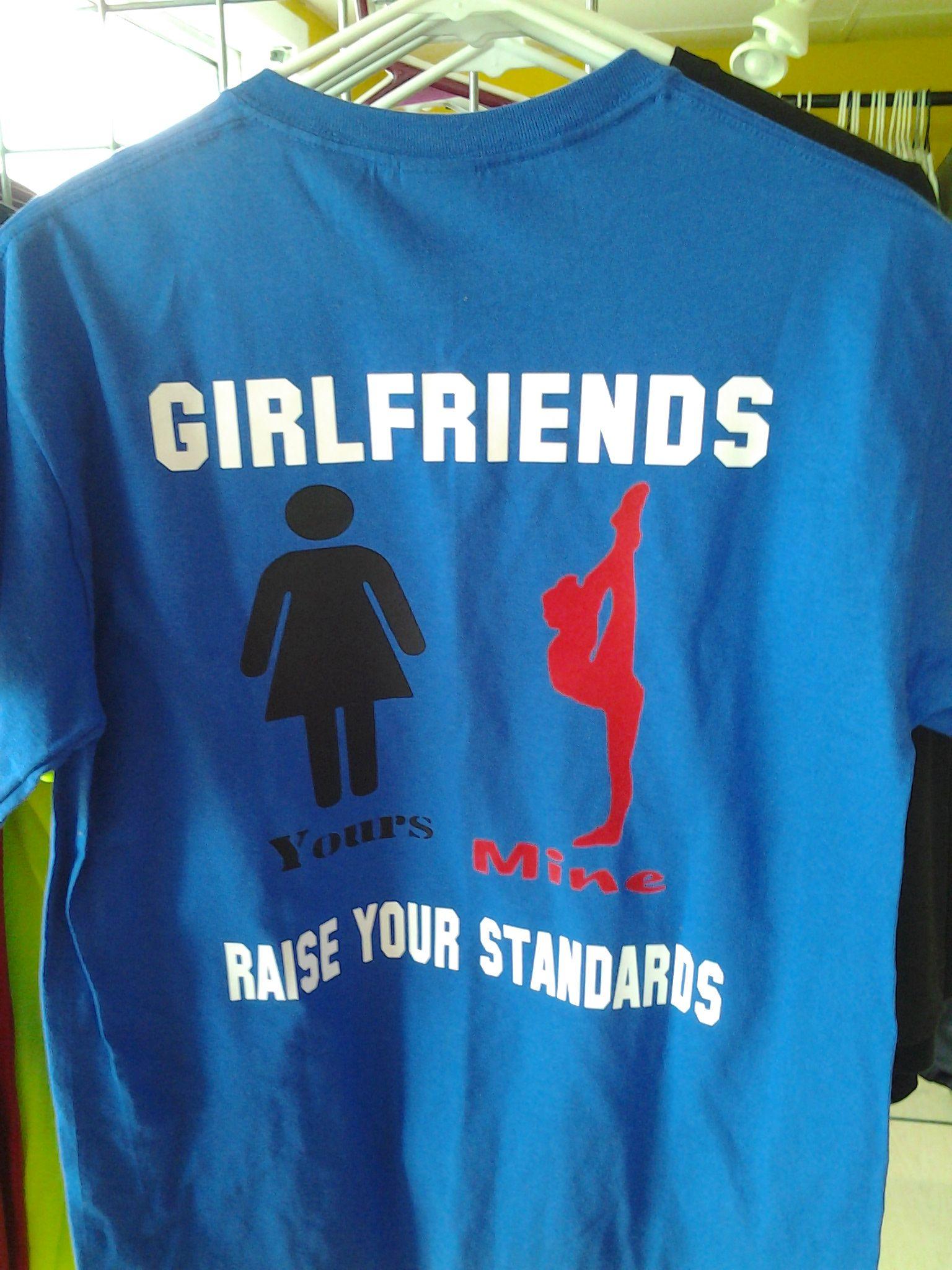 Cheerleader Boyfriend Shirt Custom Tees Cheerleading Cheer
