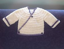 ef984e8e3c25 Newborn Kimono pattern by Amanda Whiting