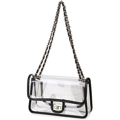 Lam Gallery Womens Clear Purse Handbags NFL Stadium Appro