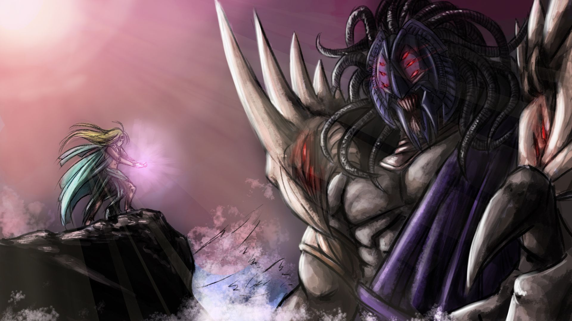 Guild Wars Lore Abaddon And The Gift Of Magic Guild Wars War Guild