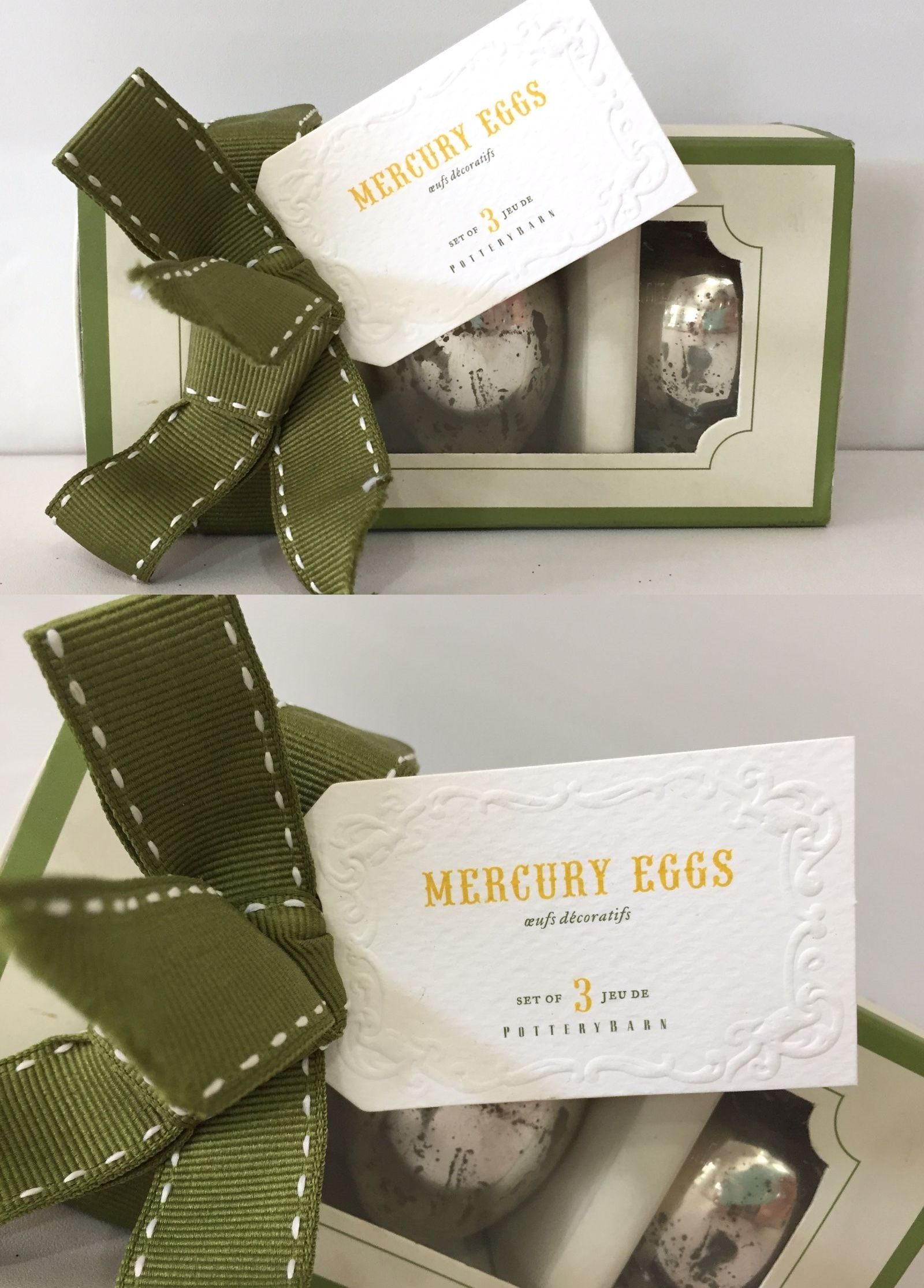 Easter and Spring 170093: Pottery Barn Mercury Glass Easter Egg ...