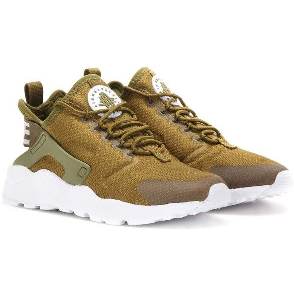 new concept 2679c 3de4e Nike Nike Air Huarache Run Ultra Sneakers (98) ❤ liked on Polyvore  featuring shoes, sneakers, green, nike footwear, nike, nike trainers, green  shoes and ...