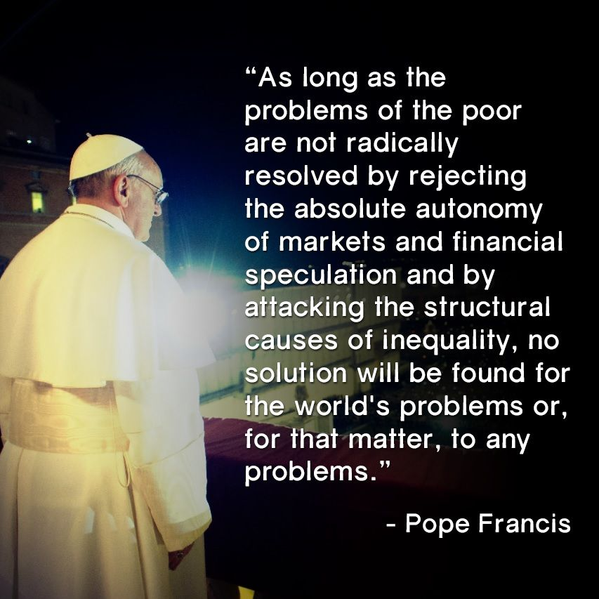 "Image result for ""pax on both houses"" pope francis quotes"