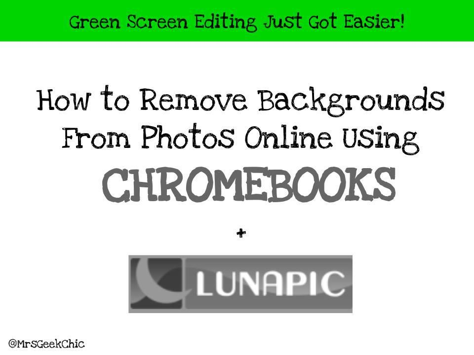 How to remove backgrounds from photos online - Lunapic Everything - google spreadsheet login