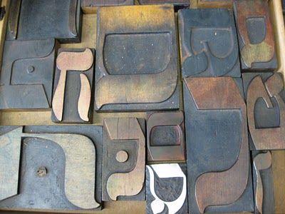 Tipografia Ivrit: impresión